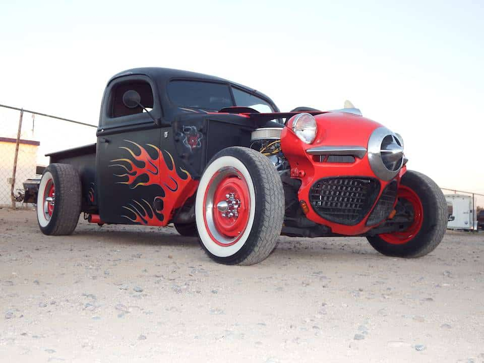 Two Moons' 1946 Ford Rat Rod