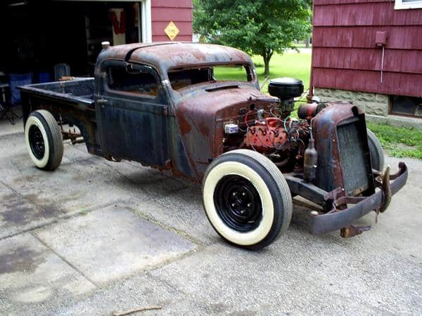 Aaron Anderson's True Home Grown Rat Rod