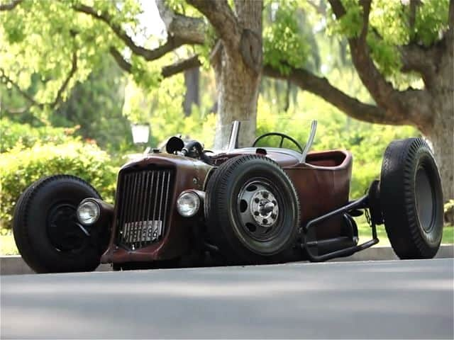 Satan's Rat-Rod: 1931 Ford