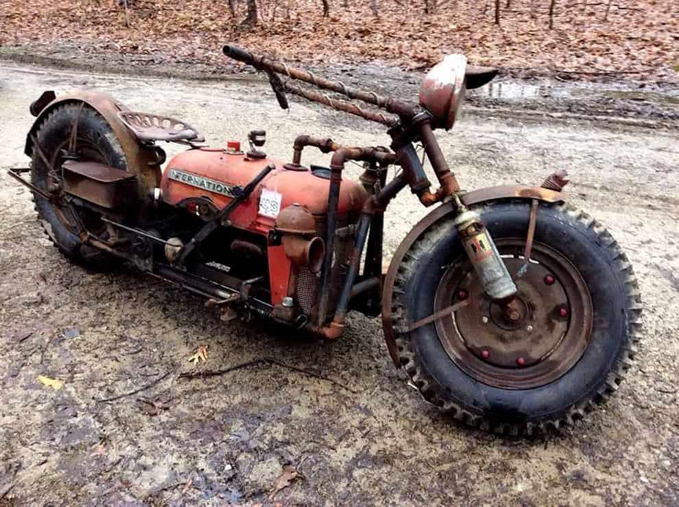 Farmall Cub Tractorcycle