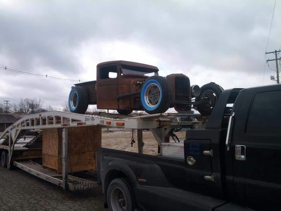 Wes Smith's 1934 Ford Truck and Trailer