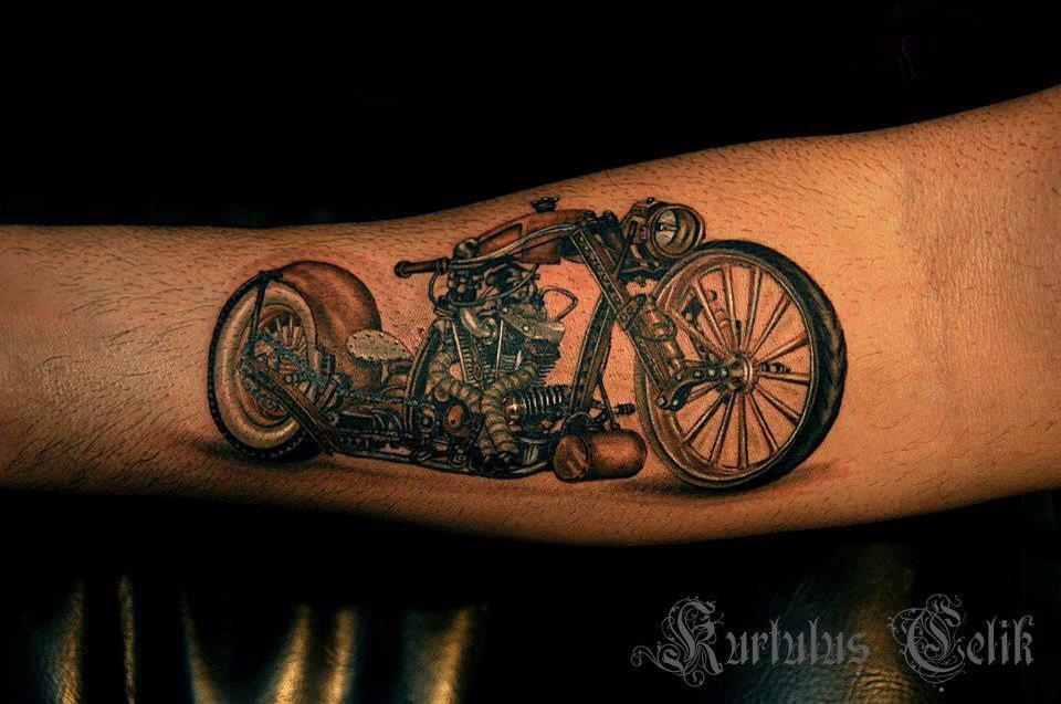 Wes Smith's After Hours Rat Bike Tattoo