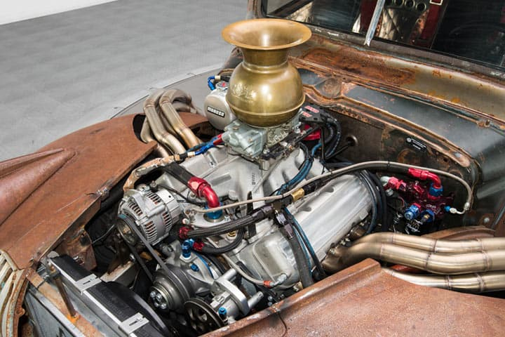 Chevrolet Rat Rod Pickup Truck - Engine Compartment