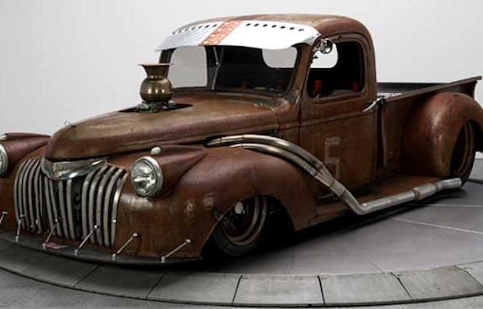 Chevrolet Reborn as Rat Rod