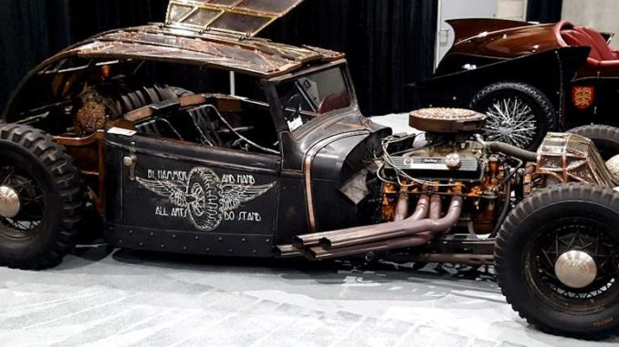 MADHAMR Rat Rod at 2017 LA Auto Show
