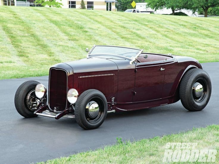 1932 Ford Custom Highboy Roadster - Street Rodder Magazine