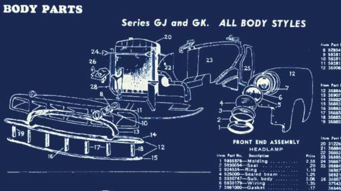 1951 mercury wiring diagram 1946 53 american classic car technical sheets  american classic car technical sheets