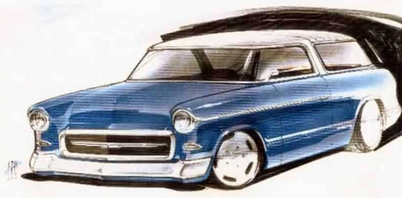 1955 Chevrolet Nomad Custom Concept