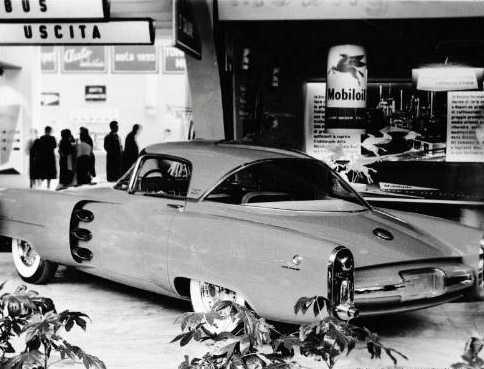 1955 Lincoln Indianapolis Concept Car