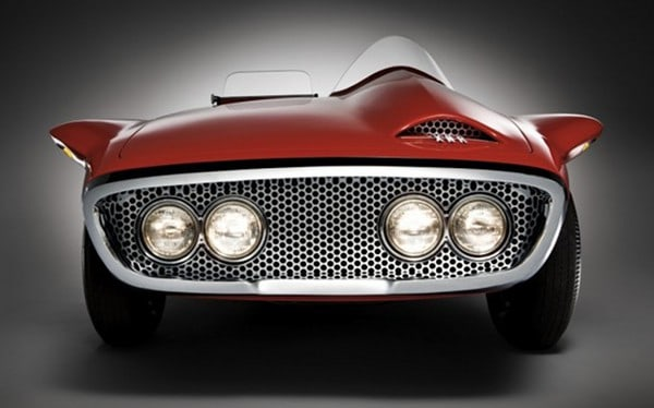 1960 Plymouth XNR Concept Car ~ Front View