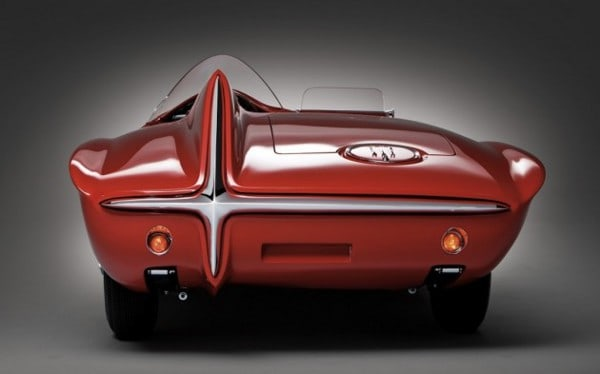 1960 Plymouth XNR Concept Car ~ Rear View