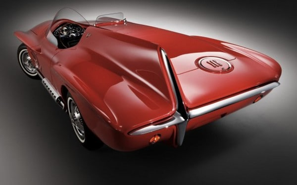 1960 Plymouth XNR Concept Car ~ Rear Quarter View
