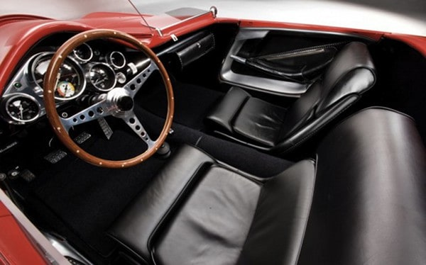 1960 Plymouth XNR Concept Car ~ Interior