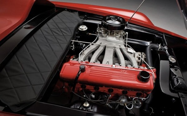 1960 Plymouth XNR Concept Car ~ Engine Compartment