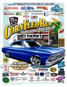 15th Annual Chino Corn Feed Run @ Chino City Hall | Chino | CA | United States