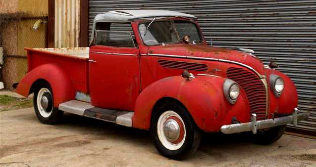 Argentinean 1938 Ford Roadster Pick Up