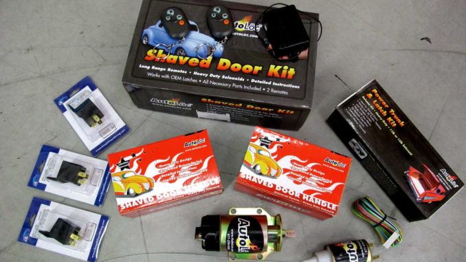 how to install an autoloc shaved door handle kit ~ roadkill customs shaved door handle solenoids autoloc shaved door handle kit