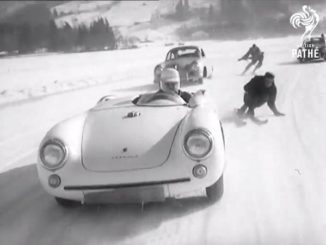 Dangerous Sport: Motor Skiing in 1955