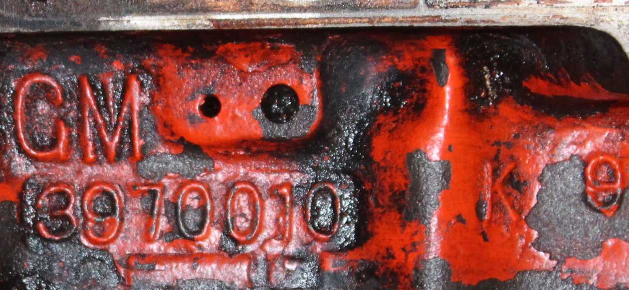 Chevrolet Engine Block Numbers Roadkill Customs