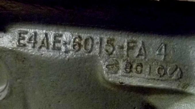 Ford Engine Block Numbers