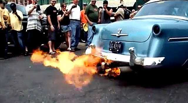 How to Build and Install Exhaust Flame Throwers ~ Roadkill