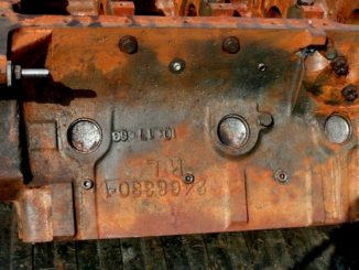 Mopar Engine Block Numbers