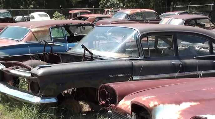 Edsel Project Cars and Donor Vehicles