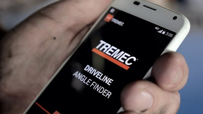TREMEC Driveline Angle Finder App