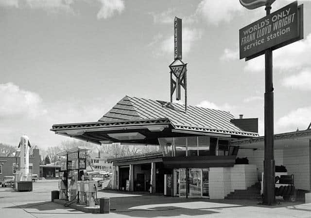 Frank Lloyd Wright Service Station