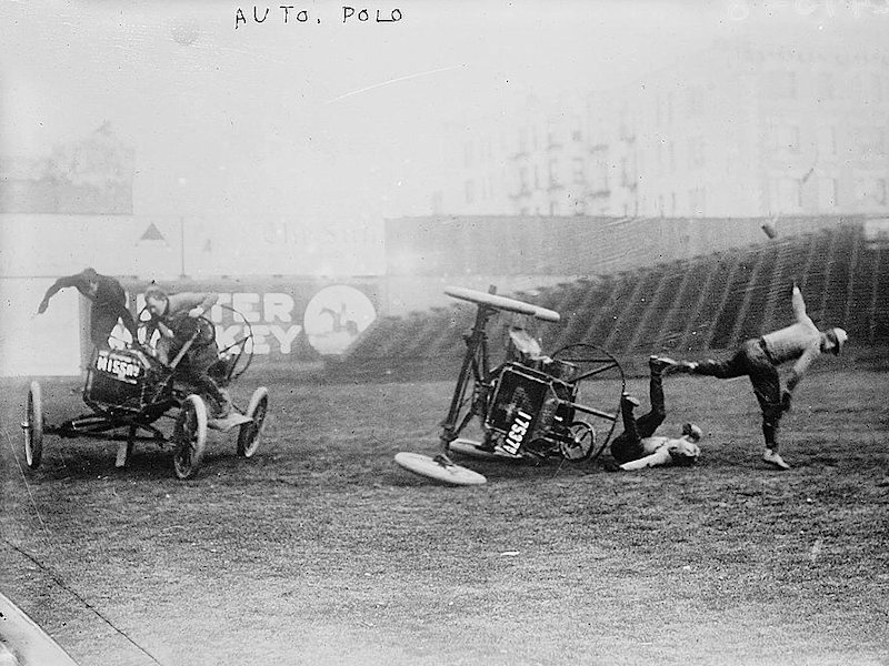 Auto Polo - The Sport of the Brave