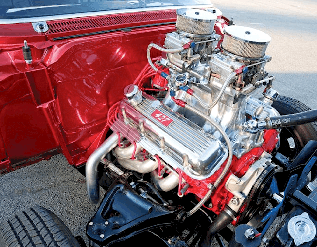 1958 Chevy Bel Air Gasser - Daddys Thing