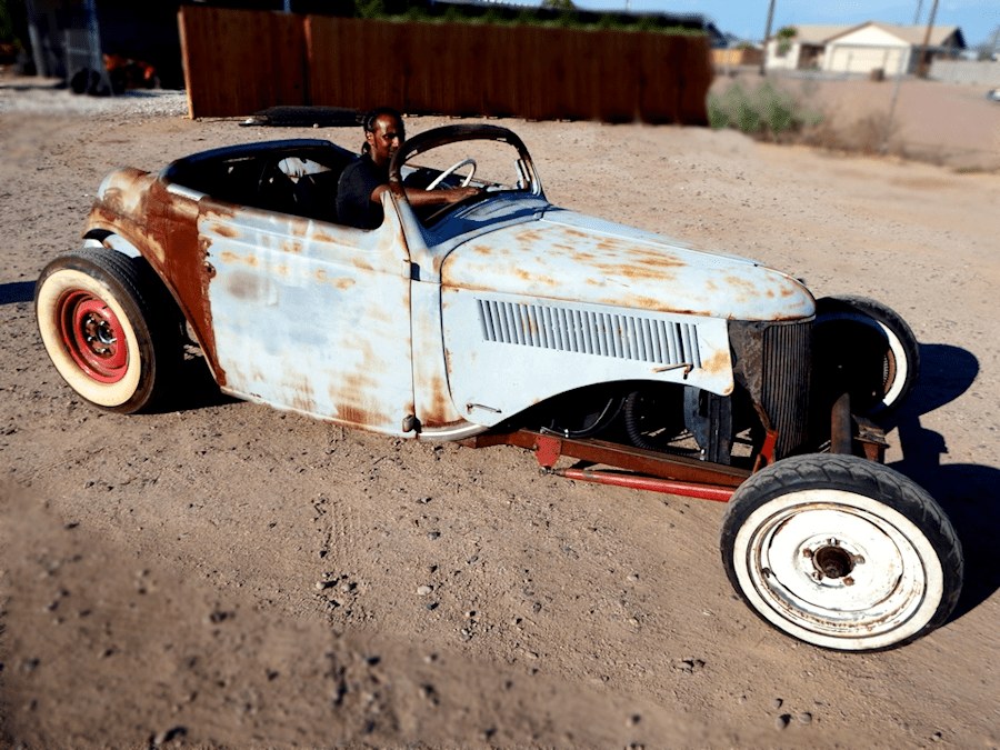 1936 Ford Humpback Rat Rod Roadster