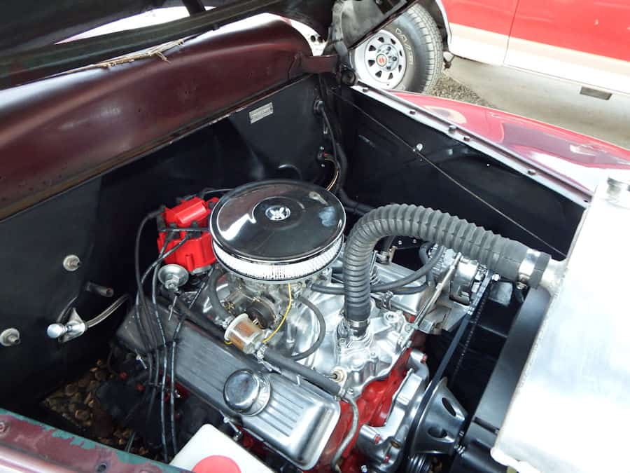 1946 Plymouth Special Deluxe Engine Swap