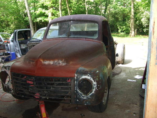 1949 Sudebaker 2R5 Pickup Truck Build 16
