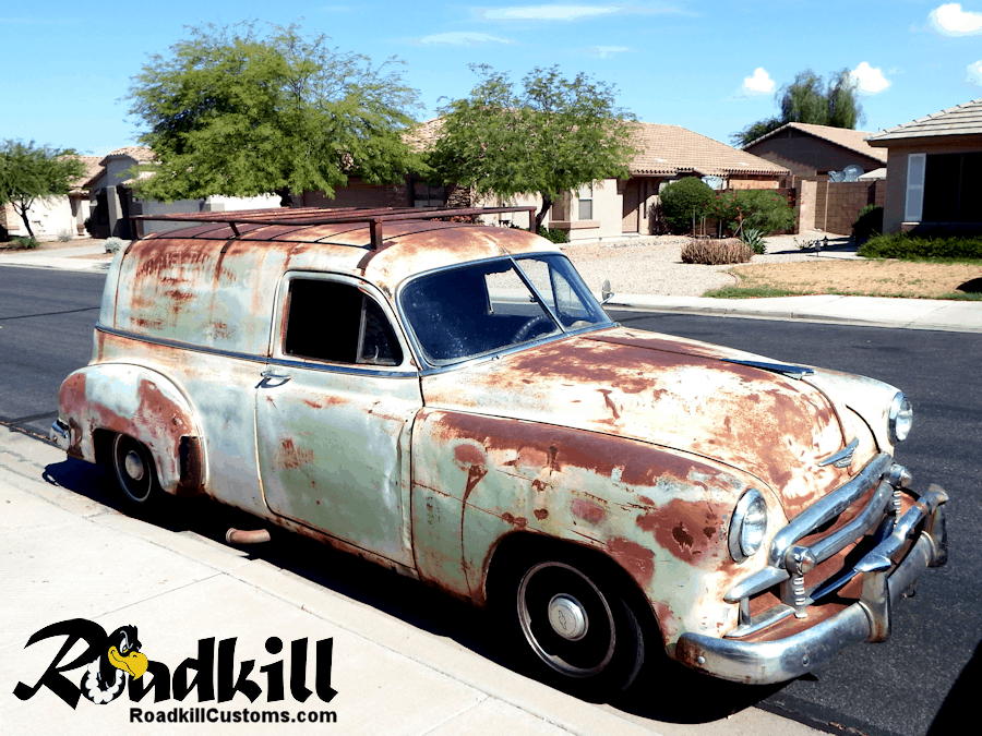 1950 Chevrolet Sedan Delivery / B-Body Chassis Swap