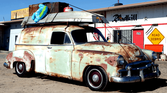 1950 Chevrolet Sedan Delivery - GM B-Body Chassis Swap