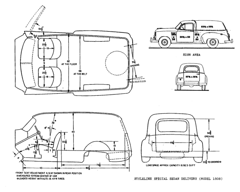 1950 chevy truck chassis dimensions details about 49 50 51