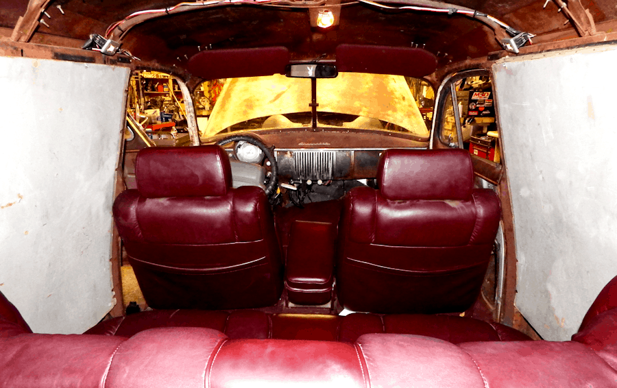 1950 Chevrolet Sedan Delivery Interior