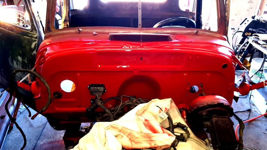 1951 GMC Chevrolet RestoMod Chassis Swap