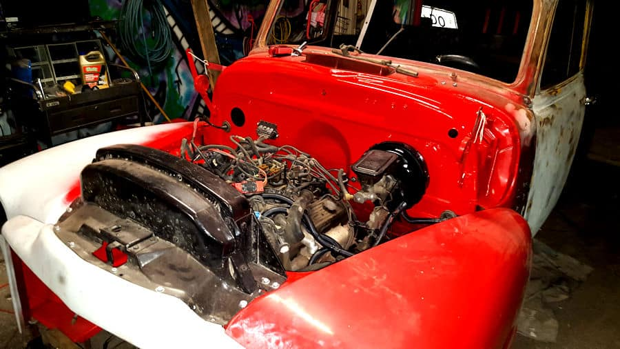 1951 GMC Chevrolet RestoMod Chassis Swap