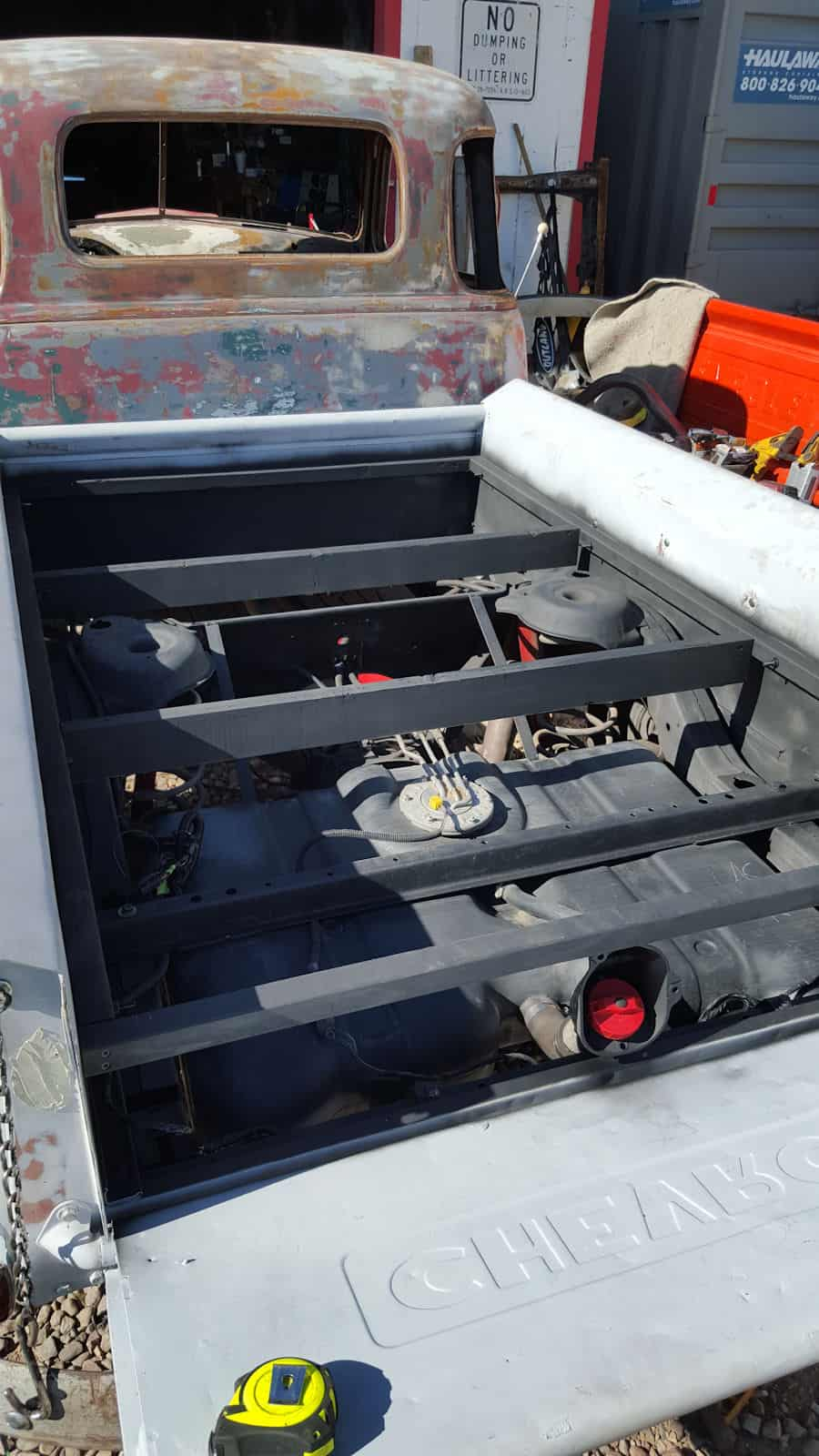 1951 Gmc Chevrolet Resto Mod Chassis Swap Roadkill Customs 1994 S10 Marker Light Wiring Diagram Restomod