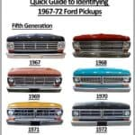 1967-72 Ford Truck Grills