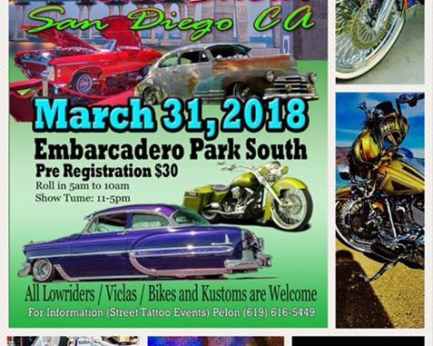 Day At The Bay Car And Viclas Show Roadkill Customs - San diego lowrider car show 2018