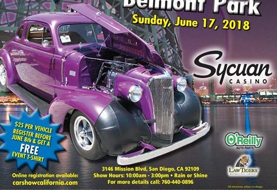 Mission Beach Fathers Day Cruise To Belmont Park Roadkill Customs - San diego classic car show 2018