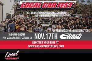 Local Car Fest 2018 @ Eibach | Corona | CA | United States