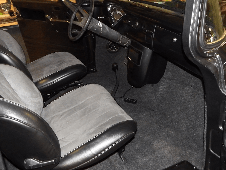 Custom Center Console 1955 Chevrolet 3100 Interior