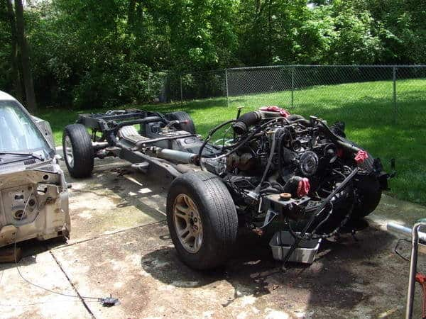 Donor Truck Teardown 2