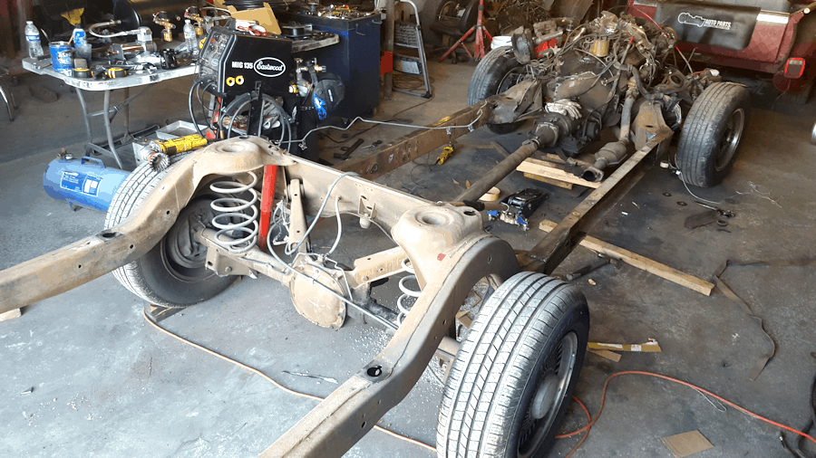 How To Narrow a GM B-Body Chassis ~ Roadkill Customs