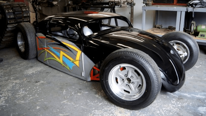 GSXR 1000 Powered VW Bug Hot Rod