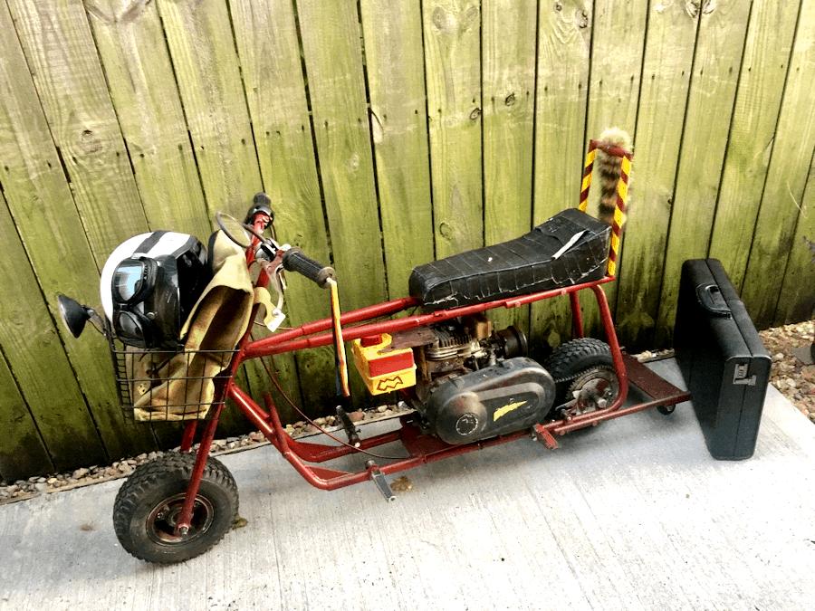 Original Dumb and Dumber Mini Bike